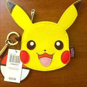 Loungefly Pokémon Pikachu Face Coin Purse